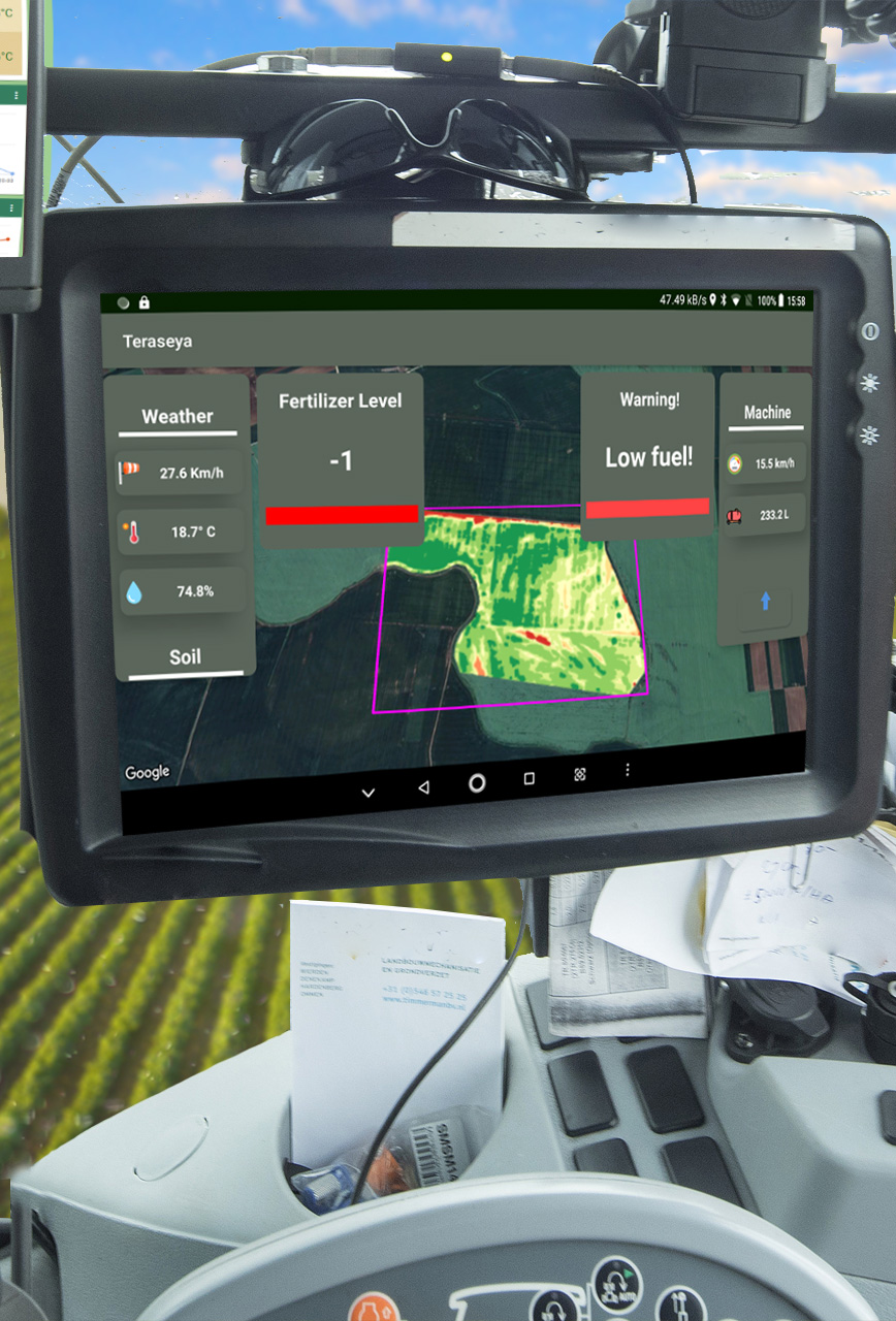 GPS agricultura sustenabila teraseya